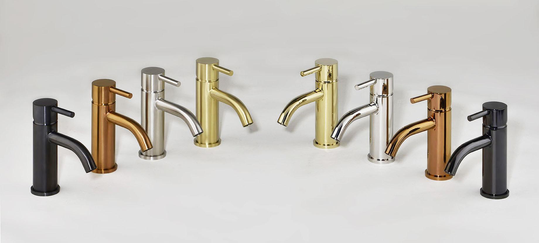 APM, rubinetteria in acciaio inox per Bagno, Cucina e Wellness